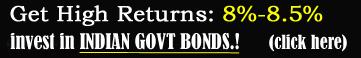 NRIs Invest in Indian Govt. Bonds