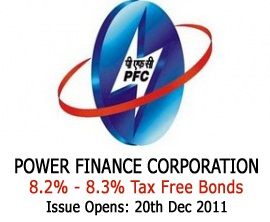 Power Finance Corporation - PFC Tax Free Bonds